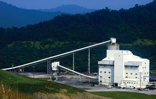 Coal prep plant